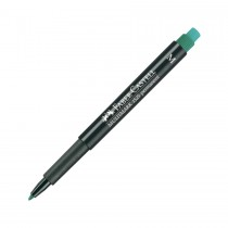 Faber Castell Multimark 1525 Permanent Medium 1.0mm  Green