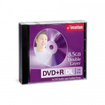 Imation DVD+R DL 8.5GB Double Layer with Jewel Case