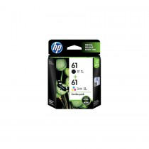 HP 61 Combo Pack Black And Tri-Color Ink Cartridges - CR311AA