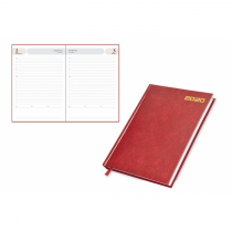 2020 Agenda Diary, Vinyl Hard Cover, 1Day/Page - English (75EV)
