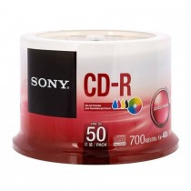 Sony CD-R, Spindle of 50