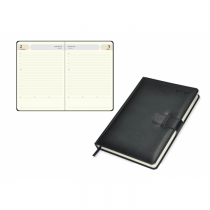 2020 Agenda Diary, Italian PU Cover, Strap Closure, 1Day/Page - English (75E)