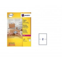 Avery L7168 Address Labels 199.6 x 143.5mm, White, 100sheets/pack