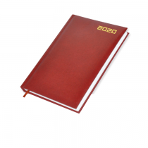 2020 Diary, A4, Vinyl Cover, 1Day/Page, Saturday & Sunday Combined - English (48E)