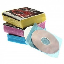Deluxe CD Sleeves 100pcs/pack
