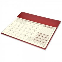 2020 Year Planner Italian PU with Desk Blotter, 1Month/Sheet - Arabic/English (FSDKPUBAE20)
