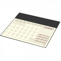 2020 Year Planner with PVC Desk Blotter and Italian PU Flap, 1Month/Sheet - Arabic/English (FSDKPAE20)