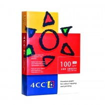4CC Color Laser Copy Paper, White, A4 Size, 100gsm, 500sheets/ream