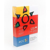 4CC Color Laser Copy Paper, White, A4 Size, 120gsm, 500sheets/ream