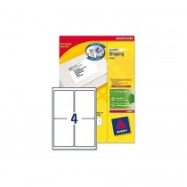 Avery L7169 Shipping Labels  99.1X139MM  100Sheets/Pack