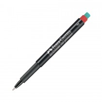 Faber Castell Multimark 1513 Permanent Fine 0.6mm  Red