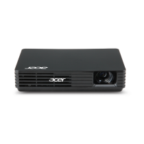 Acer C120 100 Lumens Portable LED Projector