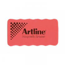 Artline Magnetic Whiteboard Eraser Red