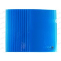 Atlas Clear L Folder A4, 12/pack, Blue