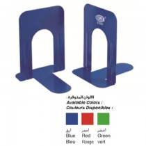 FIS  Bookends  Metal Body 8 25 Blue  2pcs Set  FSBEB230BL
