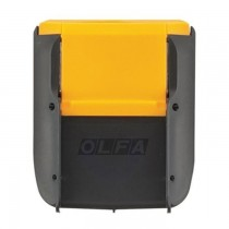Olfa Blade Disposal Holster, Yellow and Black