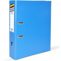 FIS Box File A4 8cm Broad Blue 50/Box