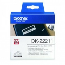 Brother DK22211 Continuous Length Film White Tape 29mmx15.24m