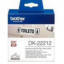 Brother DK22212 Contiunous Length Film White Tape 62mmx15.24m