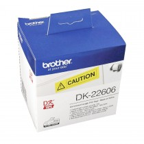 Brother DK22606 Continuous Length Film Yellow Tape 62mmx15.24m