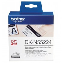 Brother DKN55224 Continuous Length Non-Adhesive Paper 54mmx30.5