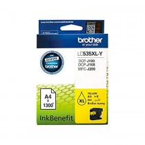 Brother LC535XL Yellow Ink Cartridge (LC535XL-Y)