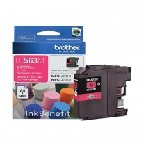 Brother LC563 High Yield Magenta Ink Cartridge (LC563M)