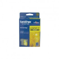 Brother LC67 High Yield Yellow Ink cartridge (LC67HY-Y)