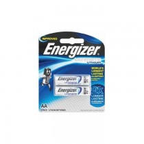 Energizer L91 AA Ultimate Lithium Battery (Pack of 2)