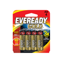Eveready A92 Gold AAA Alkaline Battery (Pack of 4)
