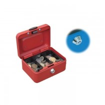 "FIS Cash Box 8"" Red Rouge with Key Lock FSCPTS0032WT"