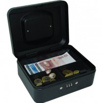 FIS FSCPTS0037BK Cash Box with Number Lock 8 inch