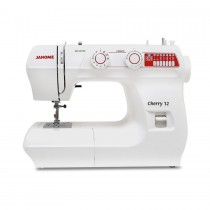 JANOME Cherry 12 LE Sewing Machine with Hard Cover