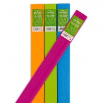 Canson Crepe Paper - 50 x 250cm, Assorted Color