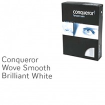 Conqueror Paper, A4, 100gsm, Brilliant White, Wove Finish, 500sh/Pack