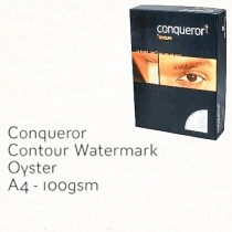 Conqueror Paper, A4, 100gsm, Contour Finish, Oyster 500sheets/pack