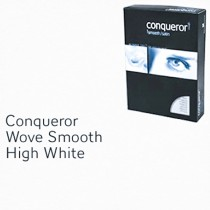 Conqueror Paper, A4, 100gsm, High White, Wove Finish, 500sh/Pack