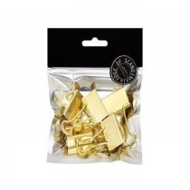 BNT EDGE Binderclips32mm5pcsGold (781016)