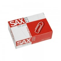 Sax Paper Clips 233, 30mm, 100clips/pack