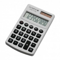 Olympia LCD  1110 Pocket Calculator 10 Digits White