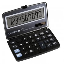 Olympia LCD  1010E Pocket Calculator LCD  1010E 10 Digits Steel Blue