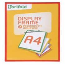 Tarifold Adhesive Display Frame A4  Red