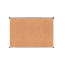 Double Sided Cork Board with Aluminum Frame, 120cm x 150cm