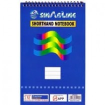 Sinarline Spiral Pad, Top Spiral, A4, 56gsm, 70 Sheets, Line Ruled
