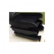 CFM-4131 3 Tier Document Tray Black