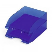 Durable Document Tray  Opaque Blue