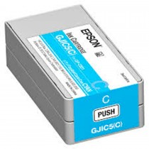Epson GJIC5 Ink Cartridge for ColorWorks C831 Cyan - C13S020564