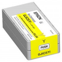 Epson GJIC5 Ink Cartridge for ColorWorks C831 Yellow- C13S020566