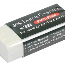 Faber Castell PVC Free Eraser with Sleeve 188530