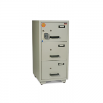 Valberg Fire Resistant Cabinet FC3K-KK 3 drawer (Two Key lock)